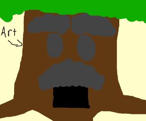 The dekku tree from Zelda (it's art)