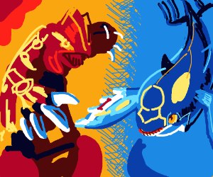 Groudon and Kyogre (Pokémon)