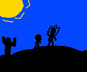 Rick & Morty in Sahara