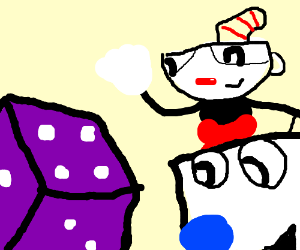 So Cuphead and his pal Mugman    CONTINUE SONG - Drawception