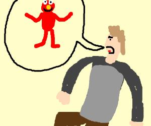 Elmo gets told off