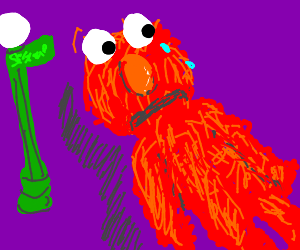 Elmo is Crying