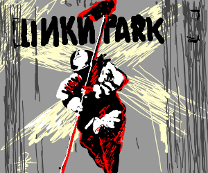Hybrid Theory Album Cover Linkin Park Drawception
