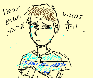 arin hansen crying