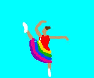 Rainbow bright ballet