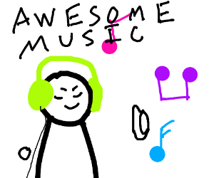 thumbs up to amazing music