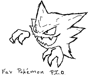 Favourite Pokémon PIO