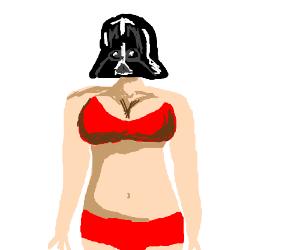 Darth Vader as an underwear model?
