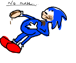sonic ate too many chili dogs