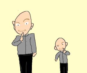 Dr. Evil and Mini Me