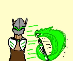 Genji and Dragon