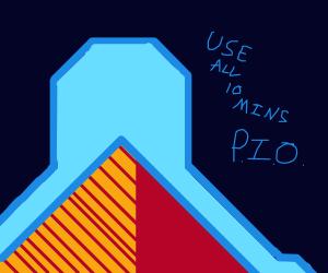Use full 10 minutes P.I.O