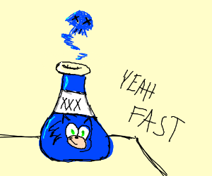 sonic potion is poisonous