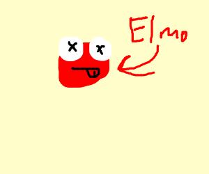 Elmo Dies Drawception
