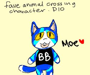 Favourite animal crossing character PIO