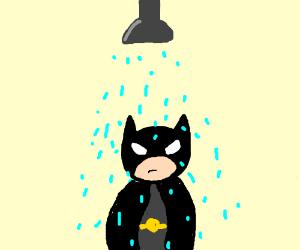 Batman In the shower