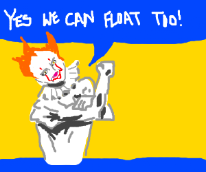 You'll Float Too Pennywise Propaganda