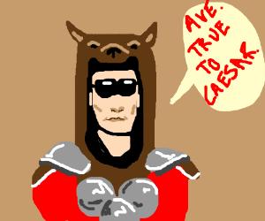 Ave true to Caesar