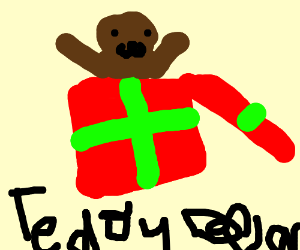 a teddybear gift i think????