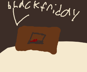 Black friday in a witch store