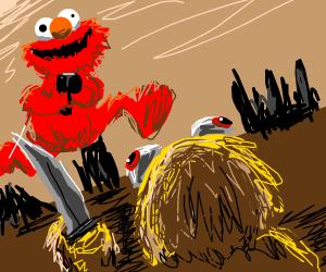 Elmo vs Yellmo