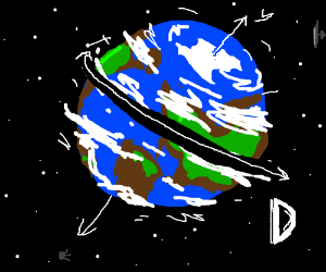 Earth's diameter