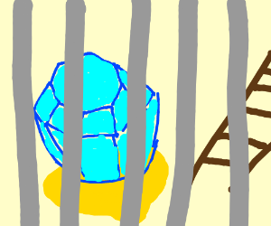 Pop and a Ladder in jail