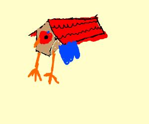 the bird cuphead boss