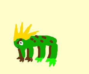 Super Sayian toad