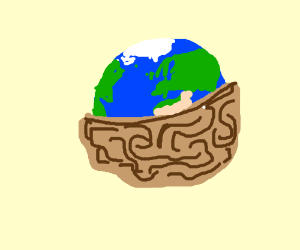 The earth in a nutshell