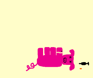 R.I.P. Druggo Pigglet