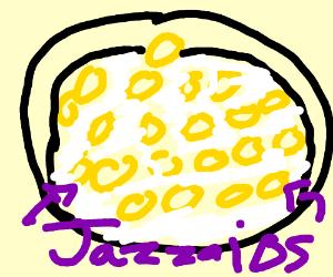 21 Cheerios in a bowl