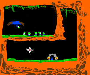 lemmings? (snes game)