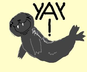 Seel is super ecstatic
