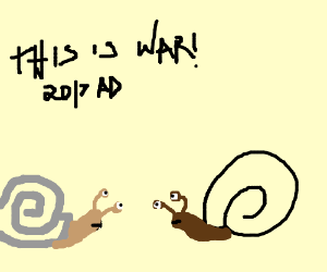 The Great Snail War of 2017.
