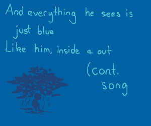 And all day and all night (Cont song)// blue