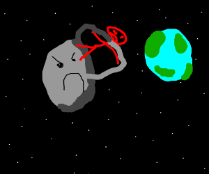 The planet pluto trying to kill you