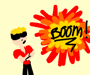 turns out cool guys do look at the explosions