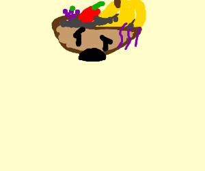 sad fruit bowl