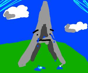 Sad Eiffel Tower