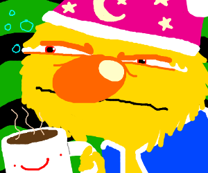 yellmo needs his coffee