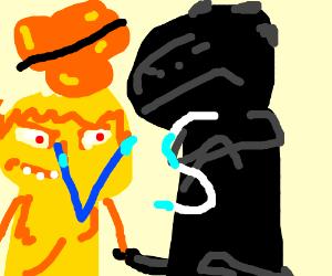 Kaiju Yellmo vs. Godzilla & Mothra