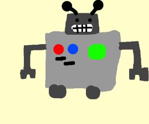 A fat robot