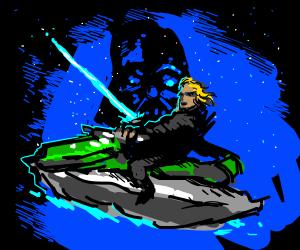 new Star Wars film: Return of the Jetski