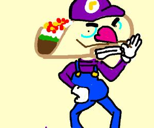 Giant Taco Waluigi