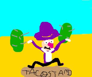 waluigi taco
