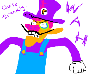 Waluigi if he was a different nationality!!
