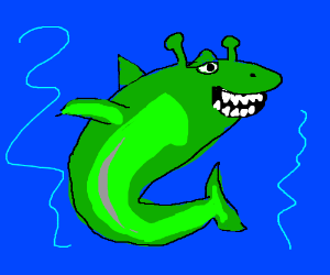 Shrek fish
