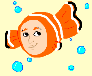 Nemo with a human face