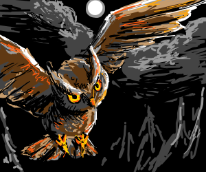 The Owl That Comes At Midnight